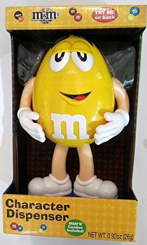 M & M Collectible Character Candy Dispenser - Yellow