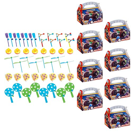 - BirthdayExpress Monster Jam 3D Filled Favor Boxes (for 8 Guests)