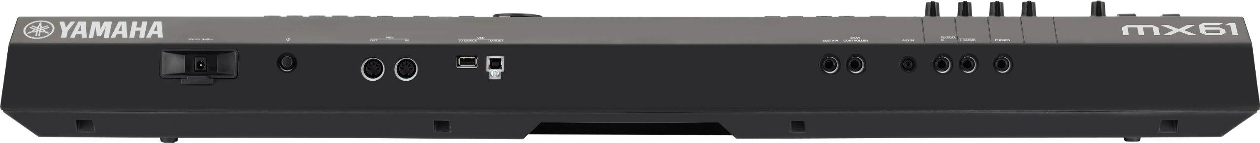 Yamaha MX61 Connectivity