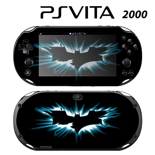 Decorative Video Game Skin Decal Cover Sticker for Sony PlayStation PS Vita Slim (PCH-2000) - Batman The Dark Knight Rises -