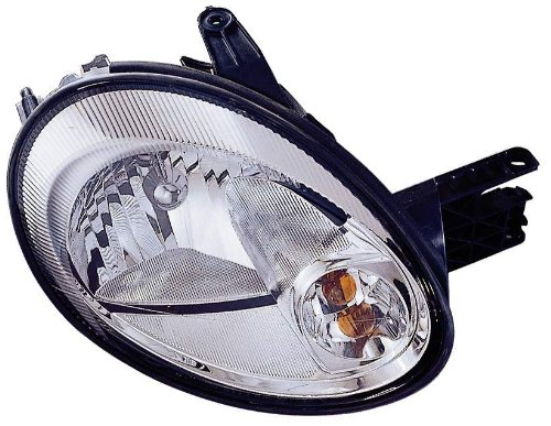 Depo 334-1109L-AS1 Dodge Neon/SX 2.0 Driver Side Replacement Headlight - Radiator Dodge Fan Assembly Neon