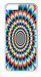 iPhone 6 Plus Cases, ACESR Plastic Hard Case Cover for Apple iPhone 6 Plus (5.5inch Screen) White Border Cool...