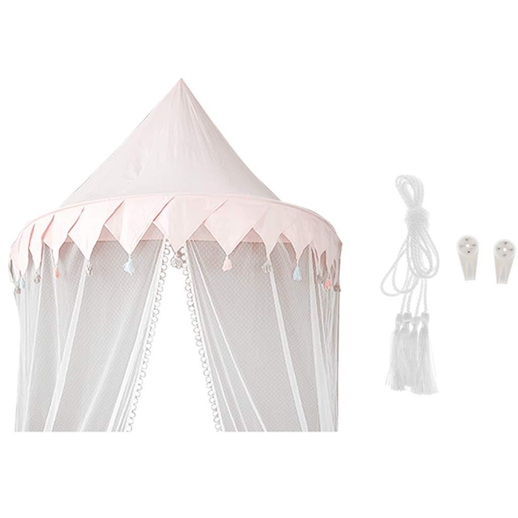 Toygogo Dosel de Cama Infantil Mosquitero de Cuna Carpa de Tienda de Juego Cotina Colgante Ornamento para Casa Oficina