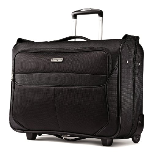 Samsonite Luggage Liftwo Carry On Wheeled Garment Bag, Black, One Size by Samsonite