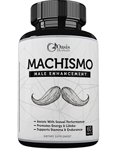 Male Enhancing Pills Increase Size | Testosterone Booster for Men | Male Enhancement | Maca Root | Erection Pills Fast Acting Metabolism Booster by Oasis Herbals | Tongkat Ali, L-Arginine 60 Capsules