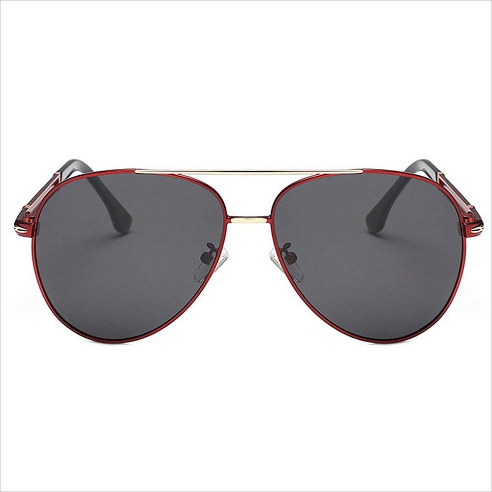 c6b110070b Huyangfeng Color Gafas de Viajar Sol polarizadas Pilotos del Conductor para  Piloto de Rana polarizada Espejo Película de Color Adecuada Reflectante  para ...