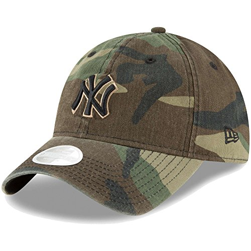New York Yankees New Era Women's Core Classic Twill 9TWENTY Adjustable Hat (Yankees Camo)