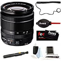 Fujifilm XF 18-55mm f/2.8-4 R LM OIS Zoom Lens (BLack) + Focus Accessory Kit