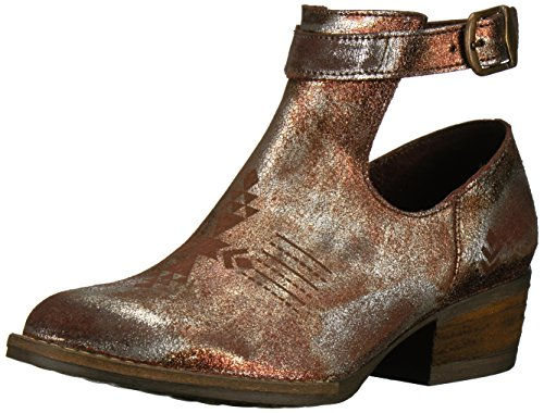 Peaceout Bronze Women's Ankle Sbicca Bootie SU607qw