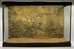Universal Rocks 24-Inch by 16-Inch Rocky Aquarium/Reptile Rigid Foam Background