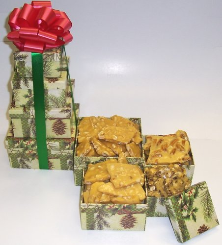 Scott's Cakes 4 Tier Pine Cone Box Brittle Mix by Scott's Cakes
