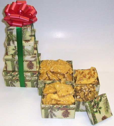 Scott's Cakes 4 Tier Pine Cone Box Brittle Mix