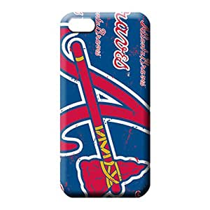iphone 6plus 6p case Scratch-free High Quality phone case phone cases atlanta braves mlb baseball