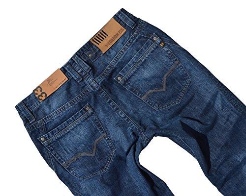 CORDON SPORT Herren Marken Jeans Hose LARRY Straight Fit