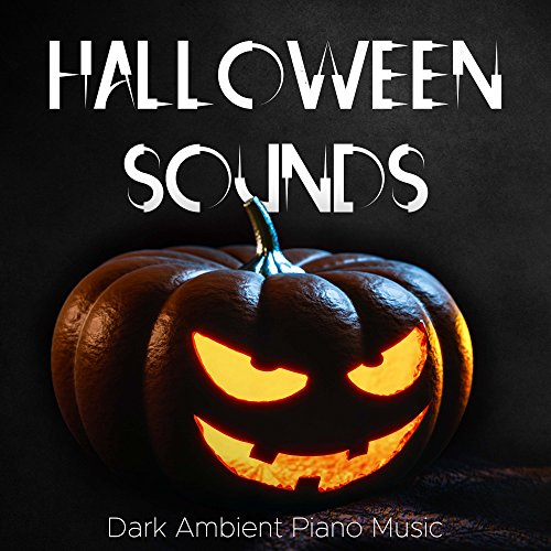 Halloween Sounds: Scary Sound Effects and Dark Ambient Piano Music with Rain and Howls -
