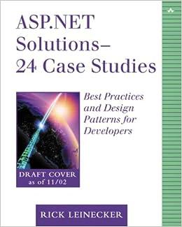 23 Case Studies Best Practices for Developers ASP.NET Solutions