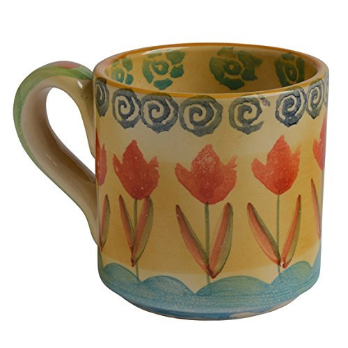 Italian Dinnerware – Small Coffee Mug – Handmade in Italy from our Festa Collection