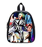 Tim Burton Beetlejuice Custom Kids School Backpack Bag (Small)