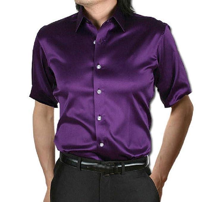 Blusa de hombre, BaZhaHei, Blusa ocasionales del verano de los hombres forman la blusa