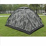 Greenery*/Outdoor Camping Waterproof 2 person 4 season folding tent Camouflage Hiking