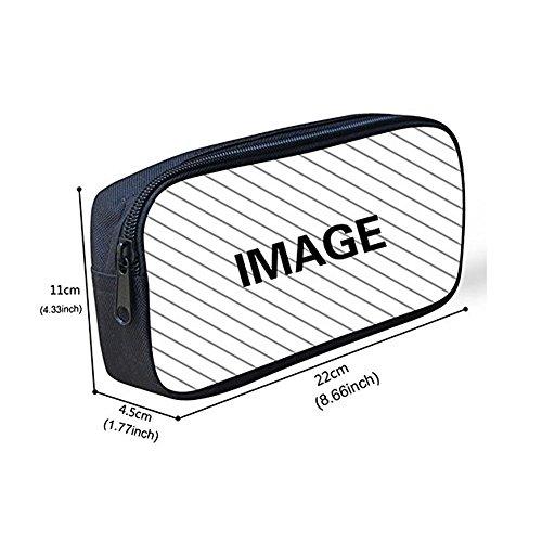 FOR U DESIGNS Children Backpack Set 3 Piece Wolf Head Lunch Handbag Cotton Pencil Case by FOR U DESIGNS (Image #7)