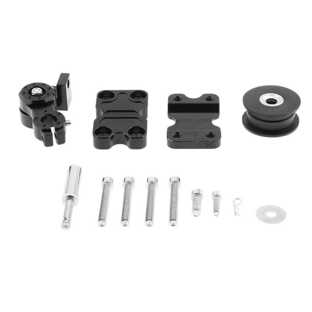 Sharplace Rodillo Herramienta Ajustador Tensor de Cadena Motocicleta ATV - Negro