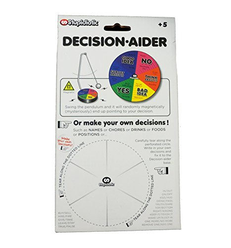 Decision-Aider Joke Fortune Telling Magnetic Pendulum Game by Stupidiotic (Image #2)