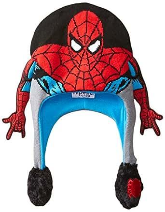 Marvel Little Boys' Spiderman Flipeez, Red, One Size