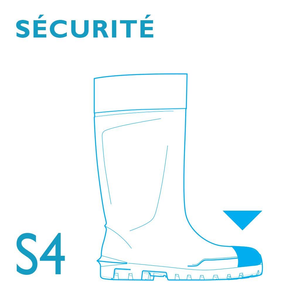 Bekina Boots Agrilite vert bottes coqu/ée bottes d/'agriculture waterproof