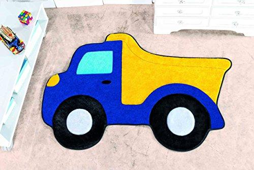 Tapete Formato Premium Caminhão Caçamba Guga Tapetes Azul Royal