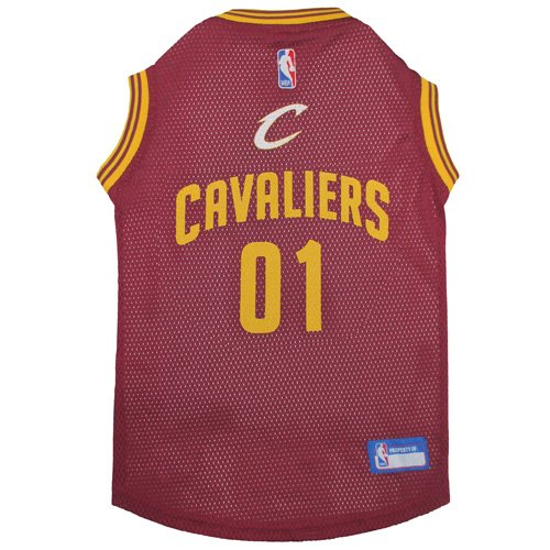 Cleveland Cavaliers Mesh Dog Basketball Pet Jersey (Large 20'' to 24'') by NBA