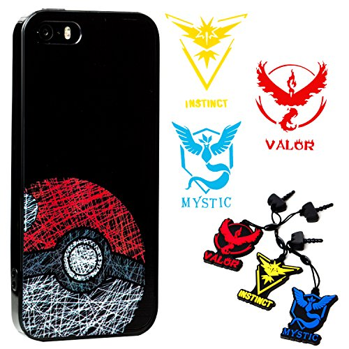 iPhone-SE-5s-5-Case-Pokemon-Go-Theme-Case-Braclet-Charm-and-Decal