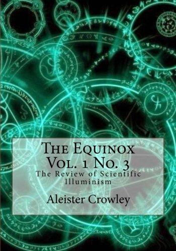 Download The Equinox Vol 1 No 3 Download Pdf Or Read Idtav72eu