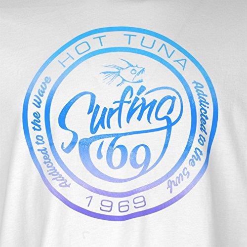 Hot Tuna Herren T-Shirt weiß weiß