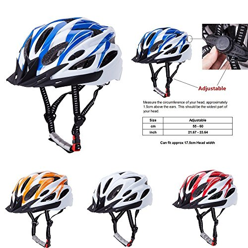 Bormart Adult Cycling Bike Helmet,Lightweight Adjustable ...