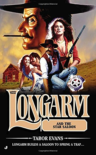 book cover of Longarm and the Star Saloon