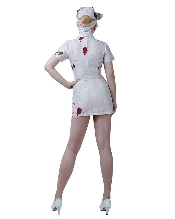 Amazon.com: miccostumes Mujer Silent Hill enfermera disfraz ...