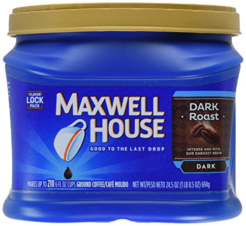 Maxwell House Ground Coffee, Dark Roast, 24.5 Ounce