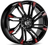 #5: Enkei GW8 (18 x 7.5, 5 x 100 & 5 x 114.3) 42mm Offset, Black, (1) Wheel/Rim