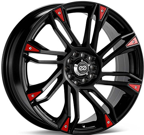 Enkei GW8 (18 x 7.5, 5 x 100 & 5 x 114.3) 42mm Offset, Black, (1) Wheel/Rim