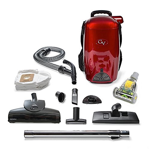 GV 8 Quart Powerful lightweight HEPA BackPack Vacuum blower Loaded w 2 yr warranty