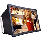 ShopAIS Mobile Phone 3D Screen Magnifier 3D Video Screen Eyes Protection Enlarged Expander