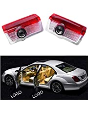 Car Logo LED Door Courtesy Light Ghost Shadow Lamp Welcome Light 2PCS for Mercedes-Benz W213 E Class W212 M W166 ML