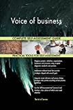 Voice of business Toolkit: best-practice templates, step-by-step work plans and maturity diagnostics