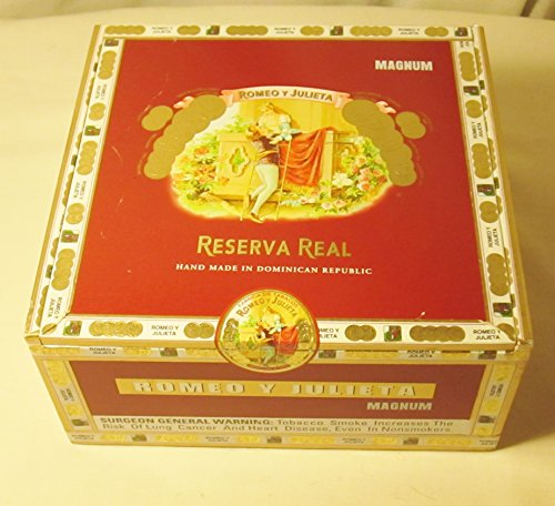 Romeo Y Julieta Reserva Real Empty Cigar  Box Single