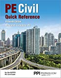 PPI PE Civil Quick Reference, 16th Edition – A
