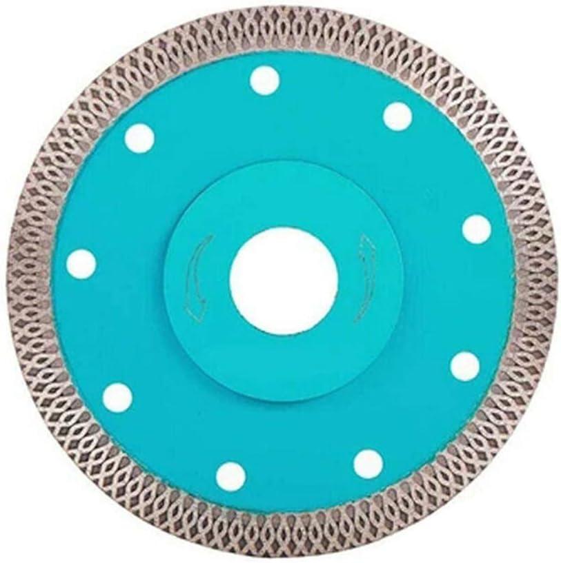 Disco de Corte para Azulejos Punta Fina, para Cortar Porcelana, cer/ámica, Granito, Granito y m/ármol 4 Pulgadas Miraitian Diamond