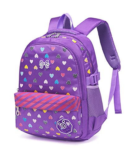 Hearts Printed Backpacks Children Bookbags product image