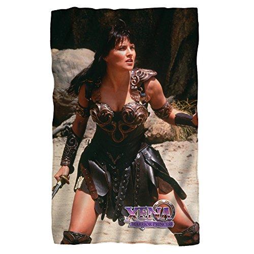 "NBC Warrior - Xena - Fleece Throw Blanket (36""x58"")"