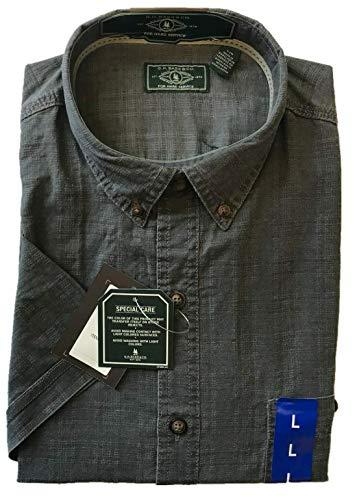 G.H. Bass & Co. Men's Short Sleeve Woven Shirt